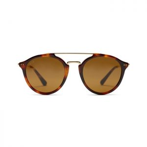 Kapten and Son Sunglasses - Fitzroy Tortoise Brown with Glass Lenses