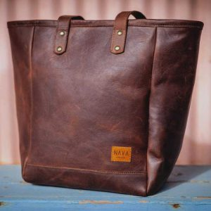 Handbag Brown Leather